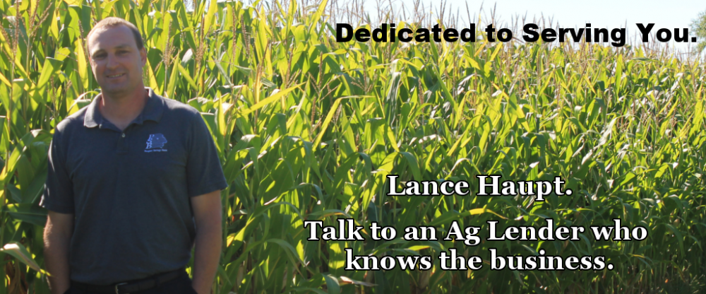 Talk to an ag lender who knows the business.